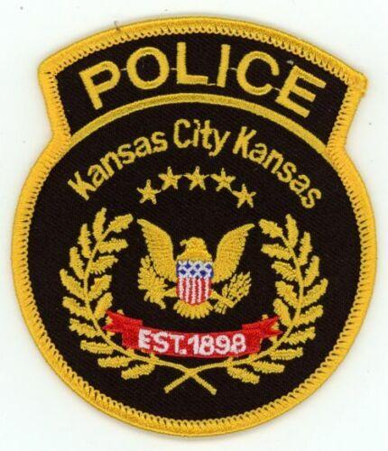 KANSAS KS KANSAS CITY POLICE NEW PATCH SHERIFF