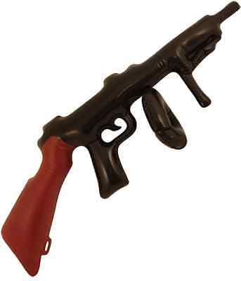 Inflatable Tommy Gun 80cm Blow Up Machine gun Gangster 1920's Bugsy Malone