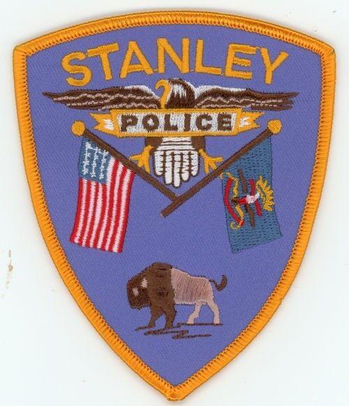 STANLEY POLICE NORTH DAKOTA ND PATCH SHERIFF BUFFALO COLORFUL