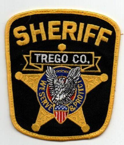 KANSAS KS TREGO COUNTY SHERIFF NICE PATCH POLICE