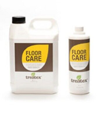 FLOOR CARE cleaner for Oiled & Waxed Wooden Floors by TREATEX 1Ltr & 5Ltr