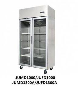 Commercial Upright Freezers - Two Door Stainless Steel Glass Dandenong Greater Dandenong Preview