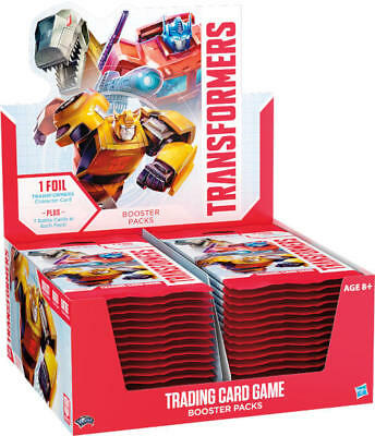 Transformers Season 1 Trading Card Game Booster Box 30ct SEALED!!