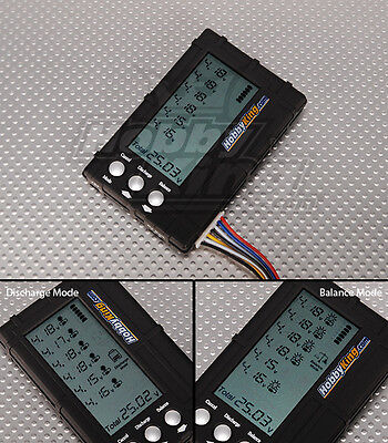 Lipo Cell Voltage (BATTERY MEDIC SYSTEM LCD 2-6S LIPO LIFE VOLTAGE CELL CHECKER BALANCE & DISCHARGE )