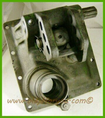 M1944t John Deere 40 420 430 Transmission Rear Cover With Center Link Bracket
