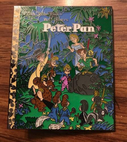 PIN PETER PAN WENDY DARLING LOST BOYS LITTLE GOLDEN BOOK FANTASY 3 INCH JUMBO