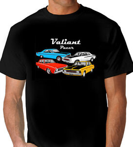 VALIANT-VG-VH-VF-PACER-BLACK-T-SHIRT-MENS-LADIES-KIDS-SIZES