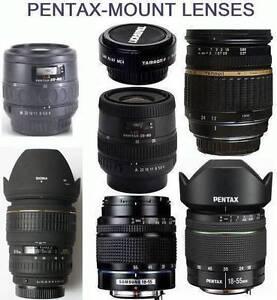 Pentax-mount (K) lenses (Pentax/Sigma/Tamron) for sale *see list* Sydney City Inner Sydney Preview
