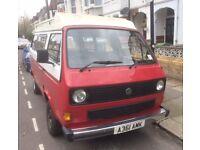 **** 'Rosie' the Volkswagen T25 needs a new home ****