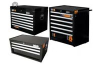 Halfords Industrial 3 piece Tool Box Chest Set **BRAND NEW**