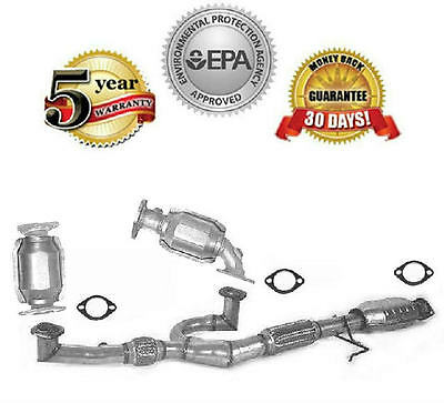 Full All Catalytic Converter Assembly Kit  Gaskets New WWarranty 30L