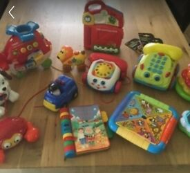 Baby toys - excellent condition, most new