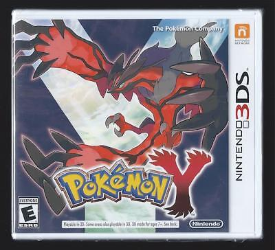 NINTENDO 3DS POKEMON Y - VIDEO GAME - *BRAND NEW SEALED*