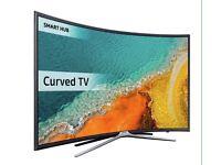 """40"""" Samsung Curve LED HD TV 40k6300 Warranty and delivered"""