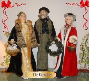 Jacquline Kent Collector Christmas Figurines - Mr.Vanderveer