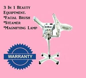 3 in 1 Beauty Machine - steamer, brush machine, maggy lamp Rocklea Brisbane South West Preview