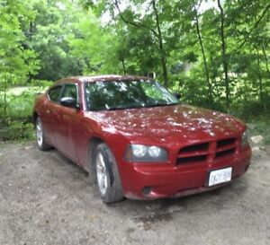 2009 Red Dodge Charger