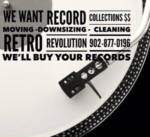 """Cleaning , Downsizing """" We Want Your  Vinyl Record Collections """""""