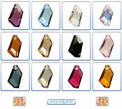 Swarovski Crystal Pendant 6670 De-Art 24mm & 50mm *Many Colours* ()