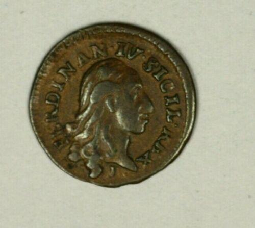 Italy Naples & Sicily 4 Cavalli 1791-P  XF   A1420