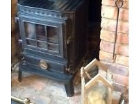 Much wenlock multi fuel stove for sale, cost £1,200 selling for £300. Good working order