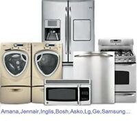 appliance repair-reparation electromenagers