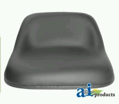 Replacement Riding Mower Seat Black. Fits Several Models.