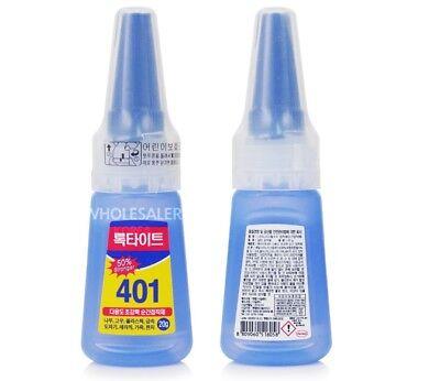 20pcs Henkel Loctite 401 Multi-Purpose Super Strong glue Instant Adhesive 50g