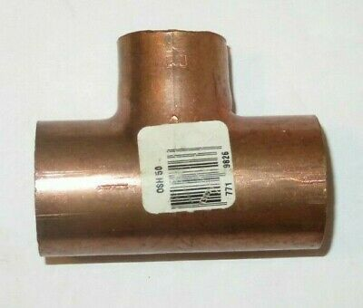 Copper Fitting 1-12 Wrot Copper Tee C X C X C - Mueller - New