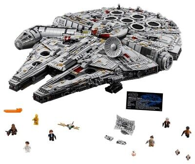 LEGO Set 75192 Star Wars UCS Millennium Falcon Brand New Free US Shipping