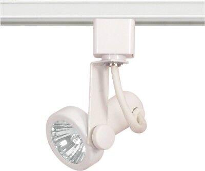 1 Light Mr16 120v Track - Nuvo - 1 Light - MR16 - 120V Track Head - Gimbal Ring White - TH321