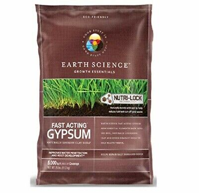 Earth Science 11882-80 Fast Acting Gypsum, 25 Lbs