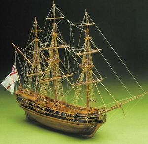 Mantua President 1750 English Frigate Period 1:60 Scale Wooden Ship Kit 792