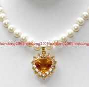 Yellow Akoya Pearl Necklace