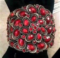 Bracciale Vintage Anni'50 Coralli,rubini,granati,oro Giallo Susan Hayward:bello -  - ebay.it