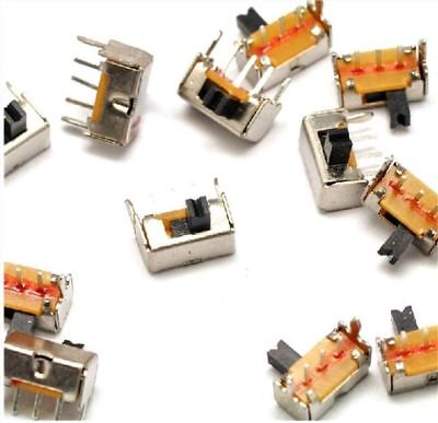 20pcs Dip Switch Onoff Right-angle Through-hole Sk12d07vg3 1p2t 4.5x8.6mm 3- Qe