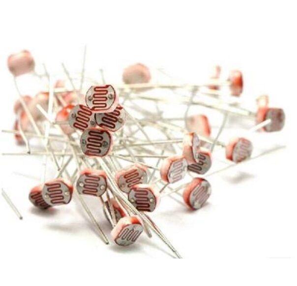 100PCS Photo Light Sensitive Resistor Photoresistor Optoresistor 5mm GL5528