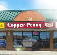 Copper Penny Grill looking for delivery drivers & dishwashers