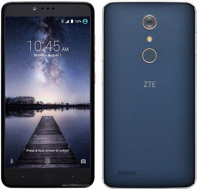 Zte Zmax Pro Z981   32Gb   Black  Metropcs  Smartphone  Unlocked  9 10