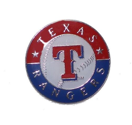 Texas Rangers Mlb Baseball Sports Pin Team Logo Design Licensed By Aminco