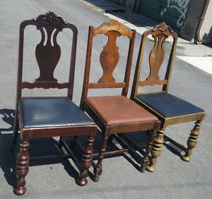 1800s vintage chairs