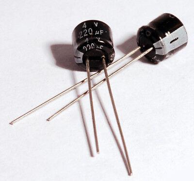 x2 Minolta X-700 Capacitors Replacement Pack 220uF 4V (2 Pieces)