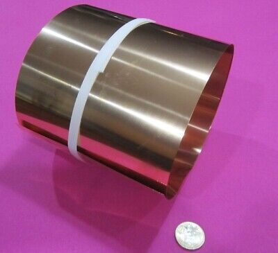 510 Phosphor Bronze Sheet .005 -.001 Thick X 6.0 Wide X 48.0 Length