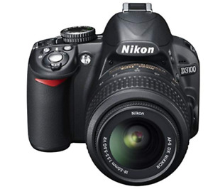 Barely used Nikon D3100 camera for sale