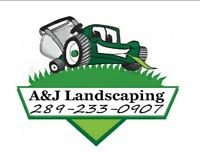 Landscaping, Resodding, Planting, Cleanup &MORE 289-233-0907