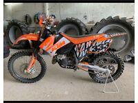 KTM SX 125cc Motocross bike