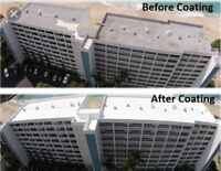 Save money with roof coatings!