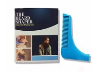 Blue Beard Shaping Shaving tool comb for perfect lines & Symmetry