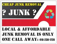 Responsible & reliable garbage removal