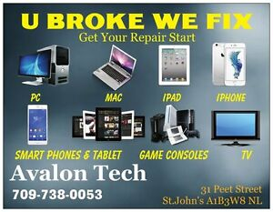 Repair iPhone, iPad, Tablet, Laptop Desktop Smartphones & more St. John's Newfoundland image 2